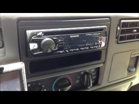 Bluetooth  Phone Stereo Install  Ford Super Duty 1999
