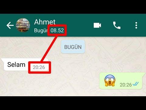 Whatsapp'ta son görülme kapatma