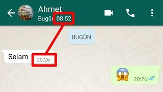 Whatsapp Son görülme Sabitleme (Programsız)