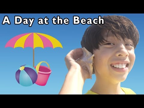 Summer Ocean Fun in the Sun | A Day at the Beach and More | Baby Songs from Mother Goose Club!