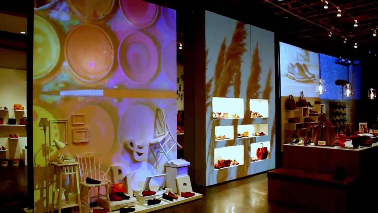 ed342fe9 Pikolinos Pop-up Store Video Installation, NYC 2013-2014 - YouTube