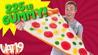 Making a 250 POUND Gummy Pizza! | VAT19
