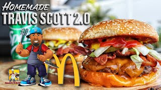 Travis Scott Burger 2.0  McDonald&#39s Copycat