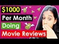How To Make Money Online Doing Movie Reviews