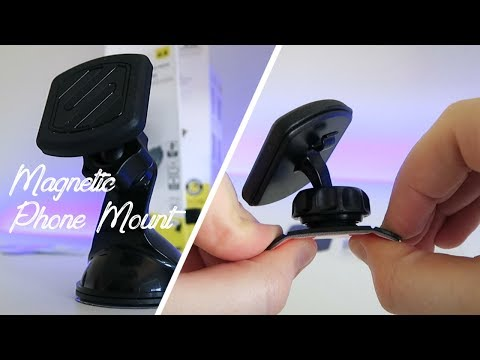 Scosche Magnetic Car Mount Unboxing And Review