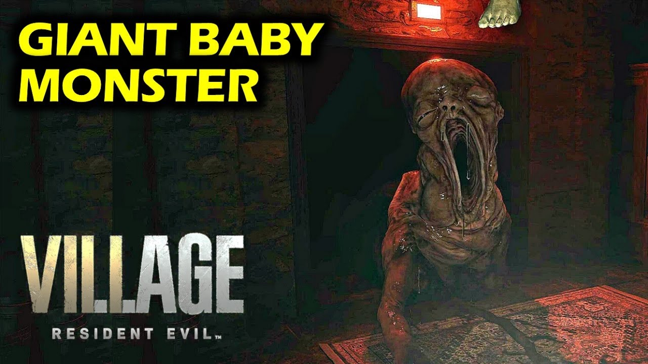 Escaping Giant Baby Monster in House Benevento | Resident Evil 8 Village  Walkthrough- Beneviento - YouTube