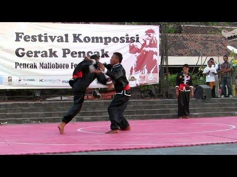 Pencak Silat Kera Sakti - Pencak Malioboro Festival ke-3 2014