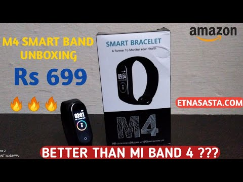 M4 SMART BAND Unboxing | Prashant Wadhwa | Etnasasta.com | Better than Mi Band 4 ???