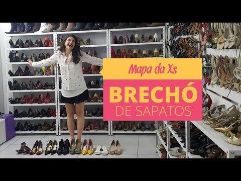 39822ee55 BRECHÓ SÓ DE SAPATOS PRA ENLOUQUECER: TEM DO 33 AO 43 | Mapa da Xs – Brechó  de Sapatos