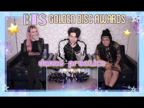 [CHOREOGRAPHY] BTS (방탄소년단) 'Golden Disk Awards 2018' Dance Practice #2018BTSFESTA REACTION!