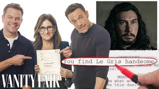 Ben Affleck, Matt Damon \u0026 Nicole Holofcener Break Down 'The Last Duel' Script | Vanity Fair