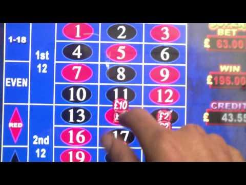 HD - Winning £500 on Video Roulette!