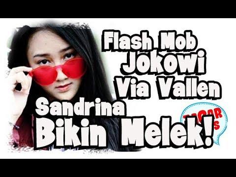Makna Flash Mob Lagu Via Vallen dan Sandrina di Tugu Proklamasi