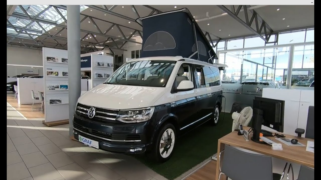 volkswagen vw t6 bulli california ocean blue camper. Black Bedroom Furniture Sets. Home Design Ideas