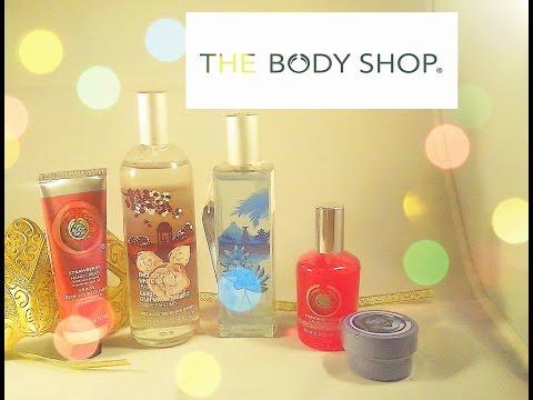 Мое первое знакомство с маркой The Body Shop.Много ароматов ) Хотите конкурс ?