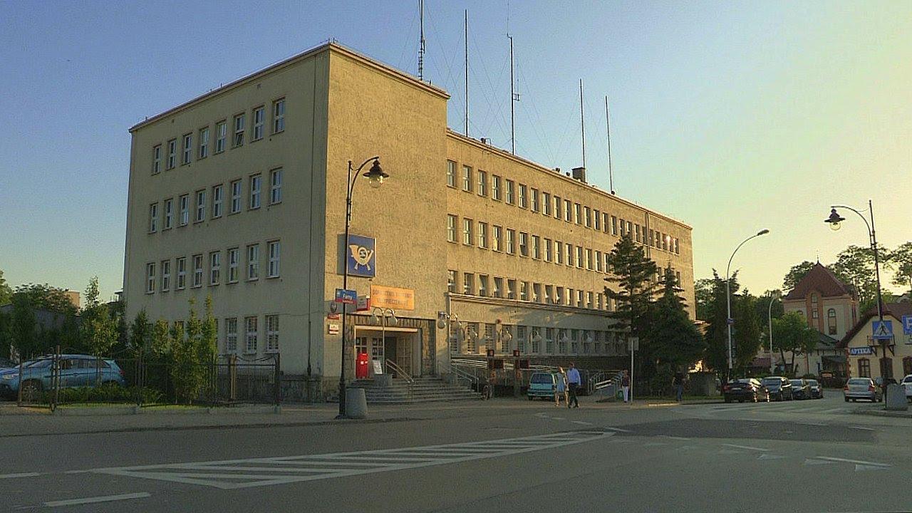 Rzeszowskie Lekcje Architektury odcinek 20 - poczta przy ulicy Moniuszki. Rzeszów.