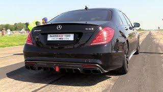 BRABUS Mercedes-AMG S63 vs BMW M6 F13 vs AMG GTR