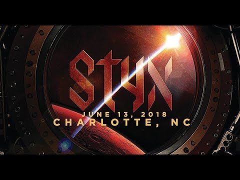 Styx Live in Charlotte 6-13-2018