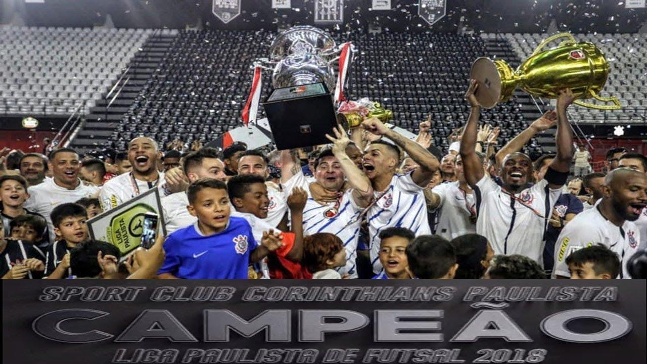 Compacto Corinthians 3(0)x(0)5 Magnus - FINAL 2º Jogo Liga Paulista de  Futsal 2018 (06 12 2018) 142bcf5b4b22d