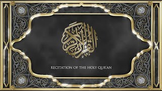 Recitation of the Holy Quran, Part 18, with English translation.