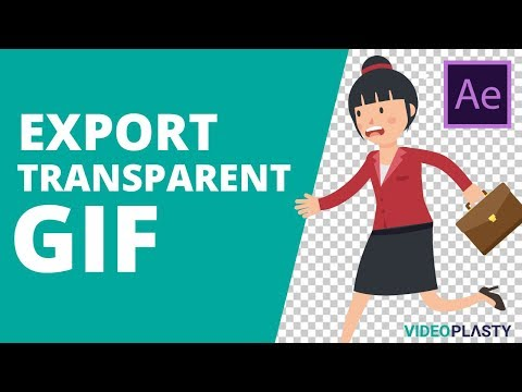 How to Export Transparent GIF with Alpha Channel from Adobe