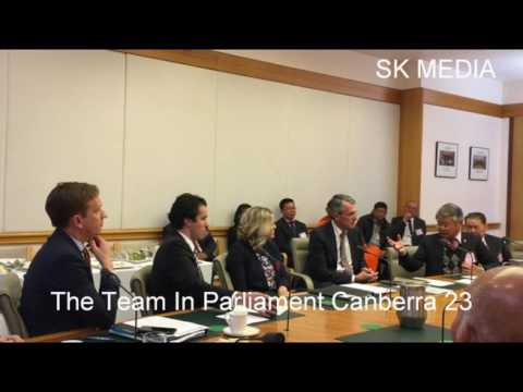 SK Media Report By Mr Korb Sao Trip To Parliament Canberra 22