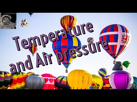 Air pressure and temperature demo