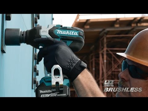Makita 18V LXT Brushless 1/2 in. Impact Wrench - XWT08M