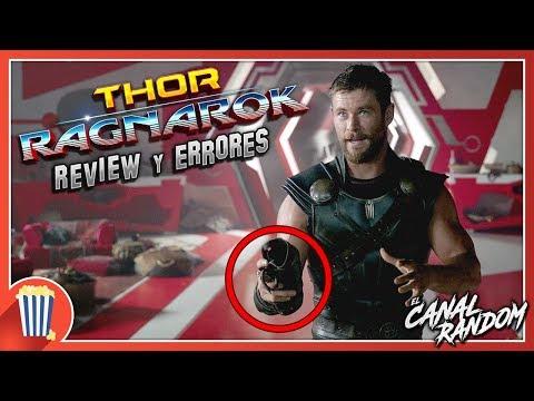 Errores de películas Thor Ragnarok Review Crítica y Resumen Thor 3