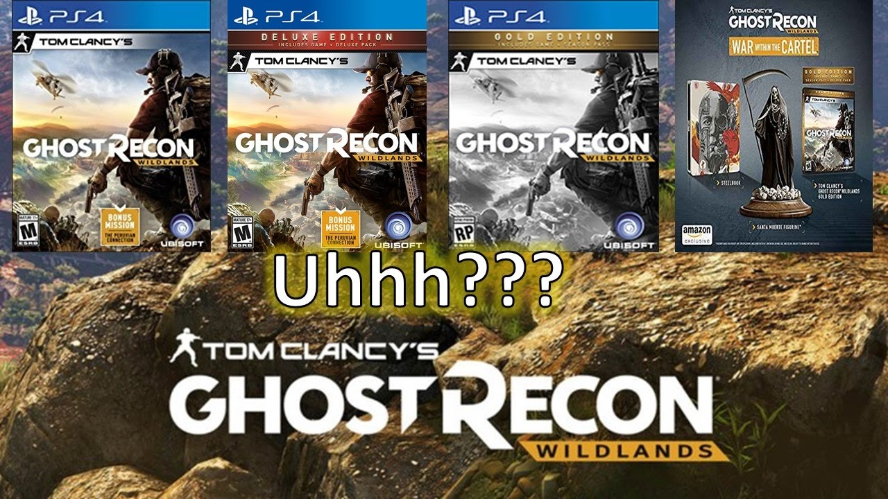 Ghost Recon Wildlands Season Pass And Game Edition Info