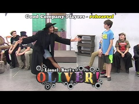 Oliver! in rehearsal - Good Company Players