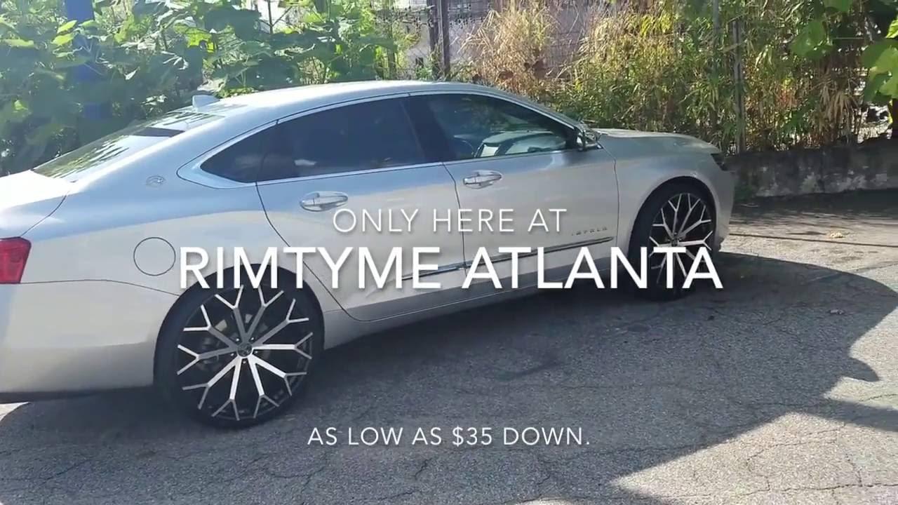 2016 Chevy Impala On 24 Versante 229 S Leaving Rimtyme Atlanta