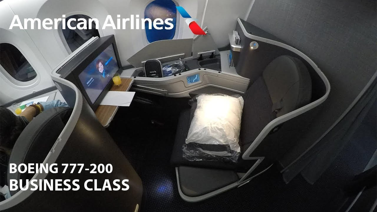 American Airlines Business Class 777 200 Flight Review Youtube