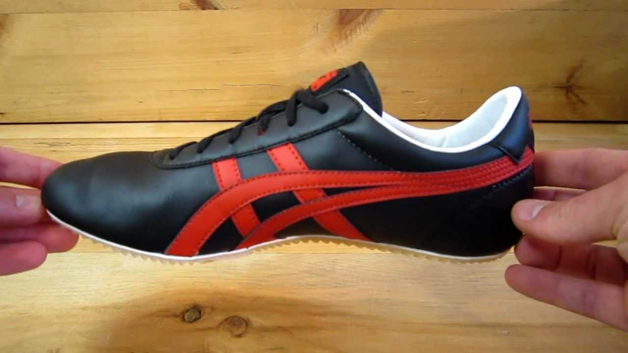 Red Onitsuka Tiger Shoes