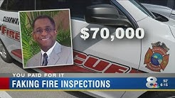 Veteran fire inspector terminated for allegedly faking inspections