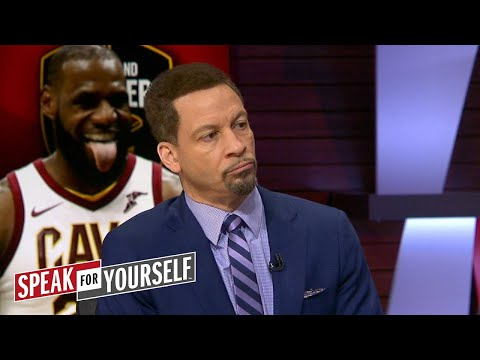 Chris Broussard on LeBron James saying Los Angeles is 'built for stars' | SPEAK FOR YOURSELF