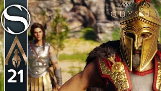 CONFRONTING MY DAD - Assassin's Creed Odyssey Gameplay Part 21