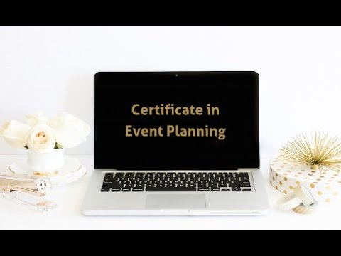 Certificate in Event Planning