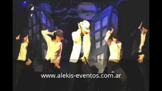 Show coreográfico homenaje a Michael Jackson (ALEKiS Eventos)