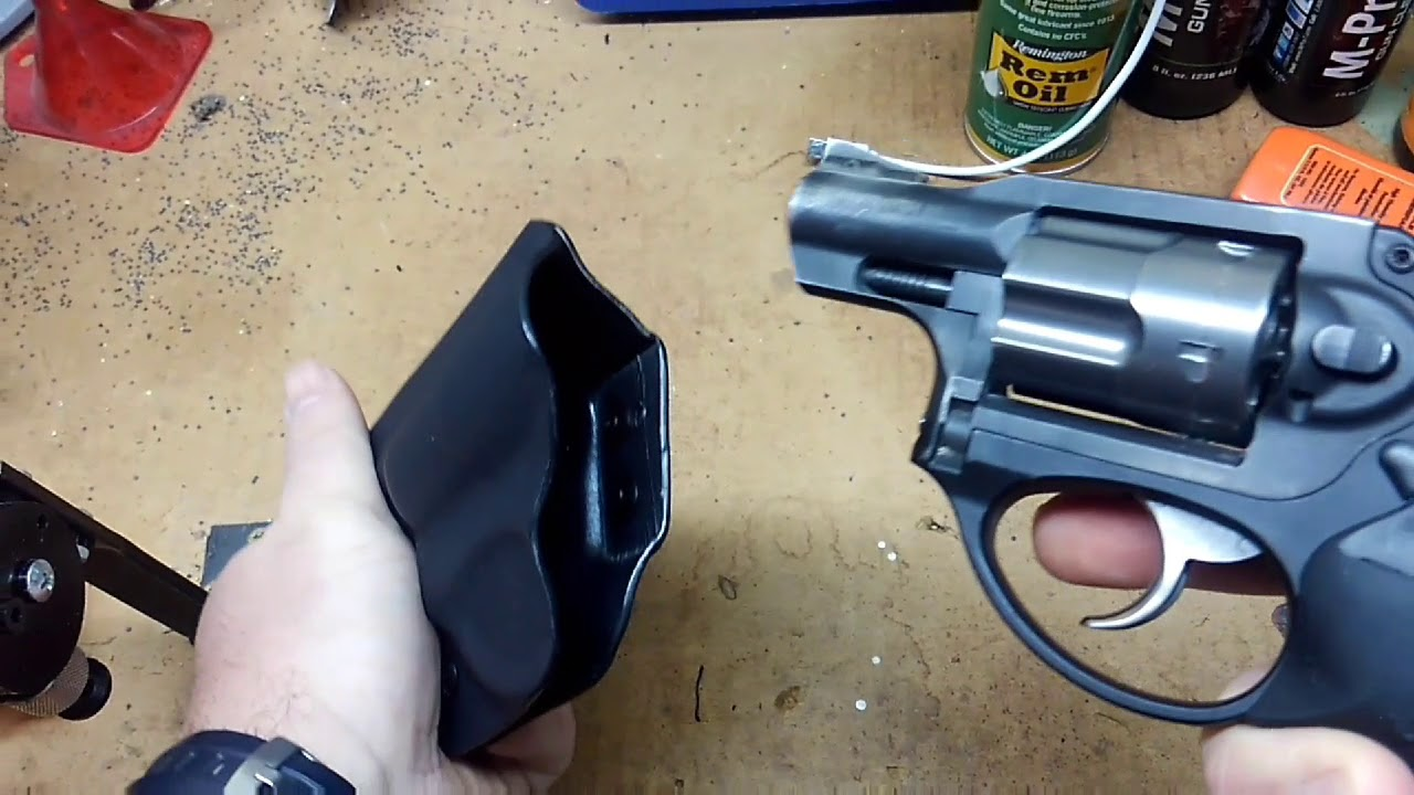 Philipsarmsco Ruger LCR holster  Unboxing/Review
