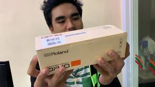 Unboxing Roland Damper Pedal DP-10