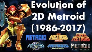 The Evolution of 2D Metroid (1986-2017)
