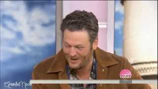 TODAY: Blake with Kathie Lee & Hoda (aired October 3, 2014)