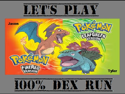 Pokemon Fire Red and Leaf Green 100% Dex Run Part 12