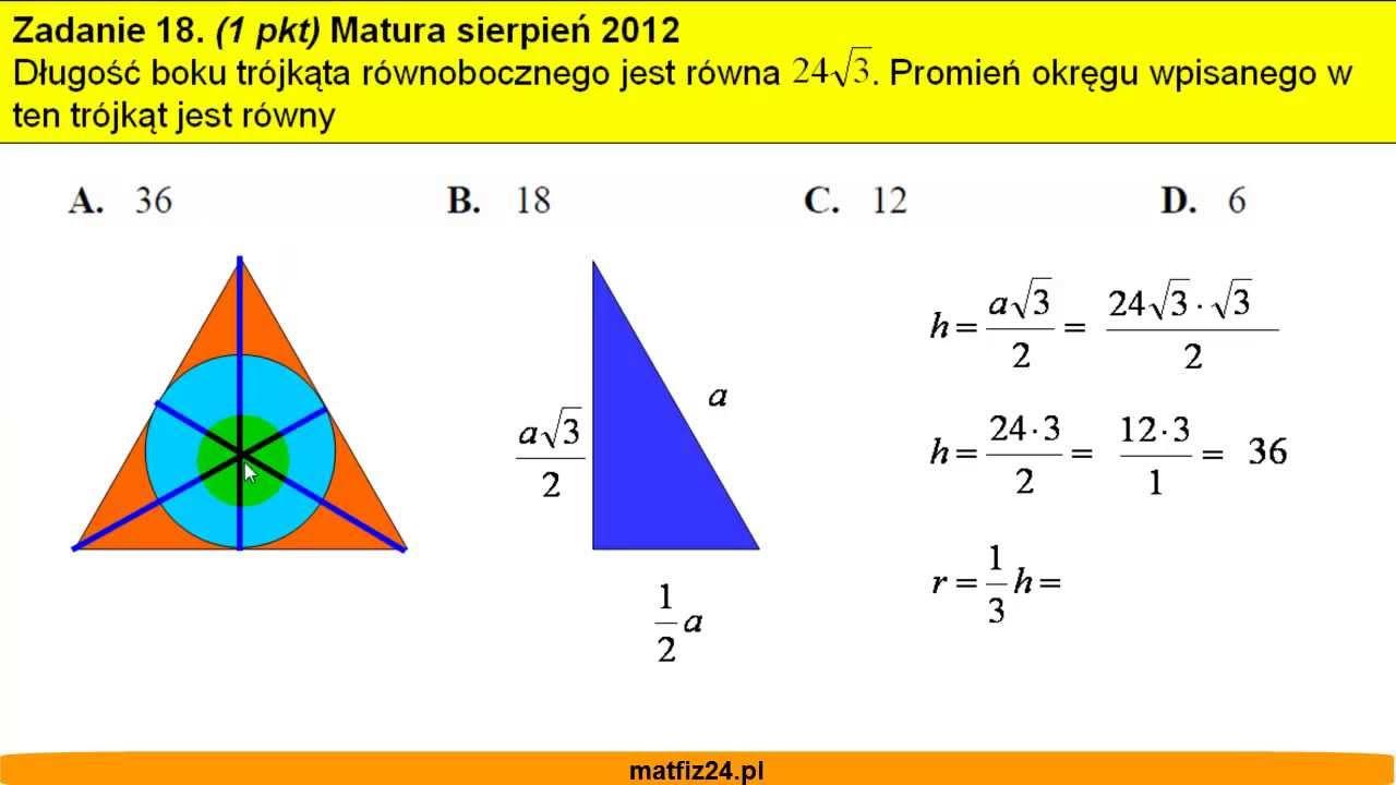 matura z matematyki z rozwiązaniami