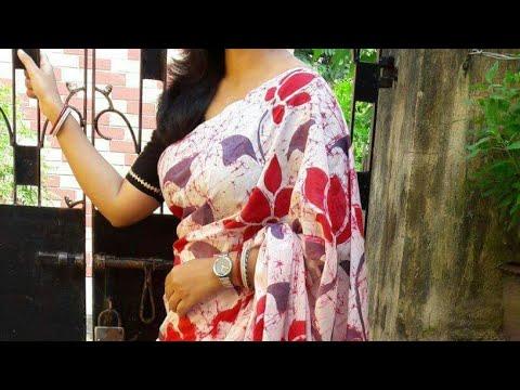 Traditional Batik Saree of West Bengal || Zarrah's Wardrobe