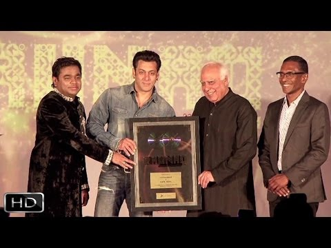 Salman-Rahman- Kapil At Raunaq Album Launch