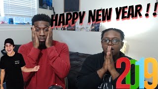 David Dobriks 2018 Vlog Rewind Reaction