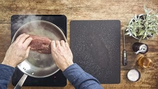 How-to: Slow-cooking a fillet of beef | Guide to cooking a tender fillet of beef | FOOBY