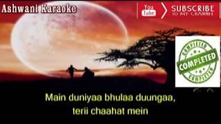 Main Duniya Bhula Dunga Karaoke with female voice
